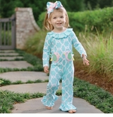 Mud Pie Baby-Infant Girl's Little Chick One Piece - sold out