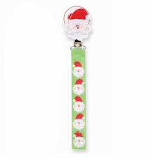 Mud Pie Baby Infant Santa Pacy Clip