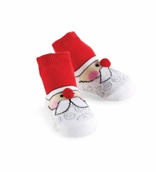 Mud Pie Baby Santa Face Socks - sold out