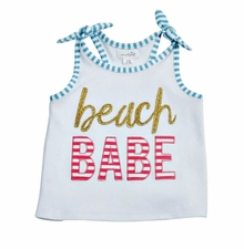 Mud Pie Beach Babe Tank Top