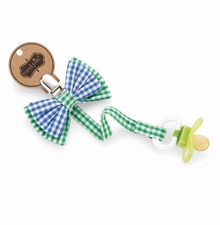 Mud Pie Boy's Bow Tie Pacifier Clip - sold out
