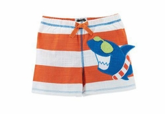 Mud Pie Boy's Shark Swim Trunks