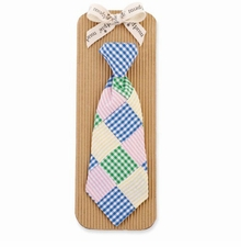 Mud Pie Boy's Tie-Patchwork Necktie - SOLD OUT