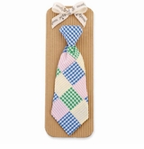 Mud Pie Boy's Tie-Patchwork Necktie
