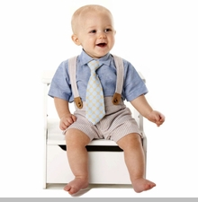 Mud Pie - Boys Suit - Seersucker 3 Piece Set