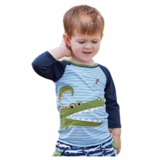 Mud Pie Boys Gator Rash Guard Swim Shirt