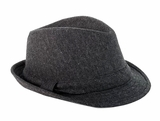 Mud Pie Boys Grey Tweed Fedora Hat - SOLD OUT