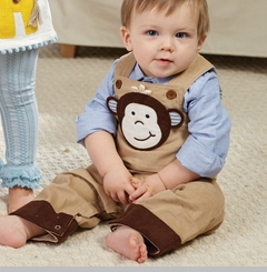 Mud Pie Boys Monkey Overall (Overall only )