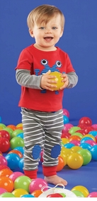 Mud Pie Boys Monster Pant Set - SOLD OUT
