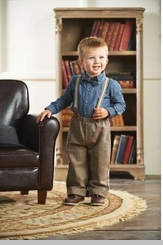 Mud Pie Boys Tweed Suspender Pant Set - SOLD OUT