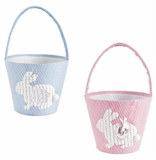 Mud Pie Easter Basket Chenille Bunny - Choose Color - sold out