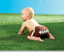 Mud Pie - Football Diaper Cover - sold out