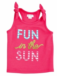 Mud Pie Fun in the Sun Tank Top