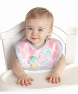Mud Pie Girl's Little Chick Bib