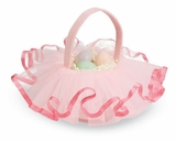 Mud Pie Girls Easter Basket : Tutu Ruffle