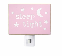 Mud Pie Girls Pink Twinkle Night Light