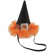 Mud Pie Halloween Girl's Witch Hat Headband