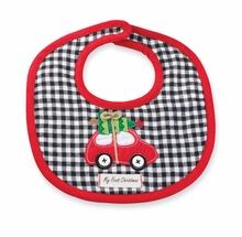 Mud Pie Holiday Bibs: Boy's First Christmas Bib - Out of Stock