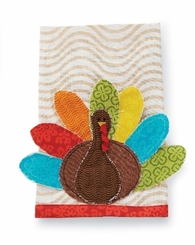 Mud Pie Holiday Decor : Thanksgiving Gobal Linen Towel - OUT OF STOCK