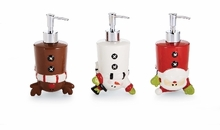 Mud Pie Holiday Soap Pumps : Cartwheel Character Soap Pumps CHOOSE ONE