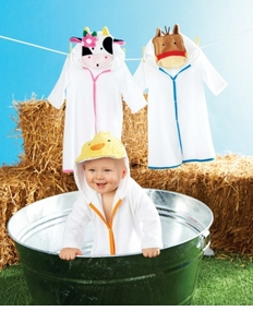 Mud Pie - Horse Terry Cloth Robe SOLD OUT
