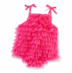 Mud Pie Hot Pink Chiffon Bubble - sold out