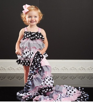 Mud Pie Infant-Baby Girls Polka Dot Ruffle Bubble One Piece - Out of Stock