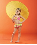 CLEARANCE Mud Pie Baby Girls Tutti Frutti Bikini 12-18 month - SOLD OUT