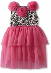 Mud Pie - Leopard Print Tutu Dress CLEARANCE FINAL SALE