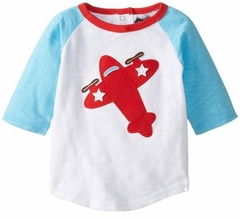 Mud Pie Little Boys Airplane Shirt