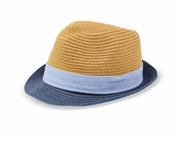 Mud Pie Little Boys Straw Fedora
