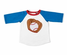 Mud Pie Little Boys Toddler Baseball Tee - OUT OF STOCK