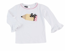 Mud Pie Little Girls Back to School Tunic :  Pencil