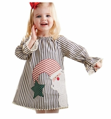 Mud Pie Little Girls Christmas Dress : Santa Dress