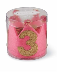 Mud Pie Little Girls I'm 3 Birthday Crown