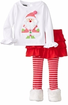 Mud Pie Little Girls' Santa Baby Skirt Set - SOLD OUT