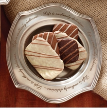 Mud Pie Pewter Candy Dish with Engraving - sold out