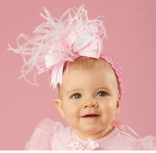 Mud Pie- Pink Party Headband - sold out
