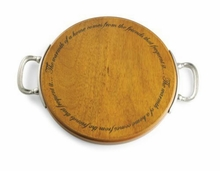 Mud Pie Round Board With Handle - sold out