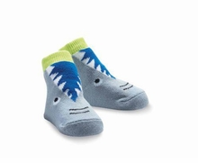 Mud Pie Shark Socks - OUT OF STOCK