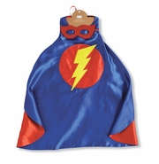 Mud Pie Superhero Costume Cape and Mask Set