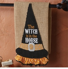 Mud Pie Witch Hat Towel