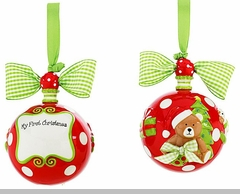 """My First Christmas"" Ornament"