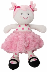 My First Doll :  Plush Snuggle Buddy Sugar N Spice Doll - sold out