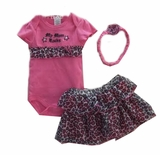 """My Mom Rocks"" 3pc Tutu Set"