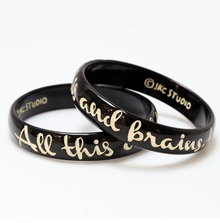 Nantucket Bangle - All This and Brains Too - Black