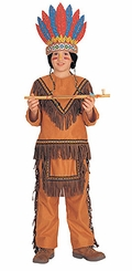 Native American Indian Costume - Childrens Indian Costume - OUT OF STOCK
