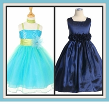 Blue or Green Dresses
