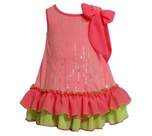 Bonnie Jean Toddler or Girls Summer Bow Dress