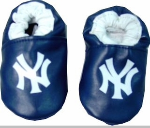 New York Yankees Baby Shoes - Leather